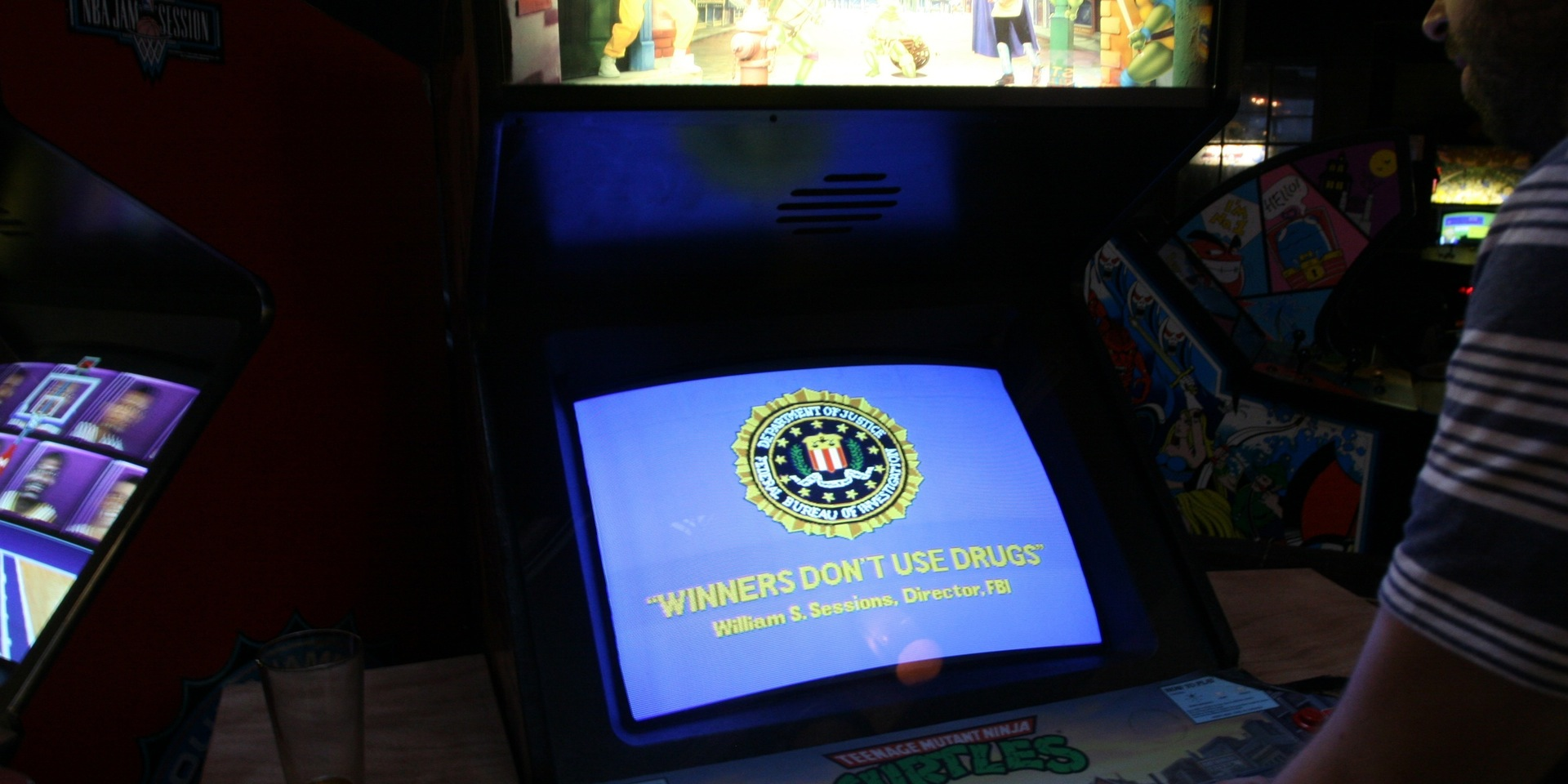 "How the F.B.I. Made ""Winners Don't Use Drugs"" the Arcade Motto of the '90s"